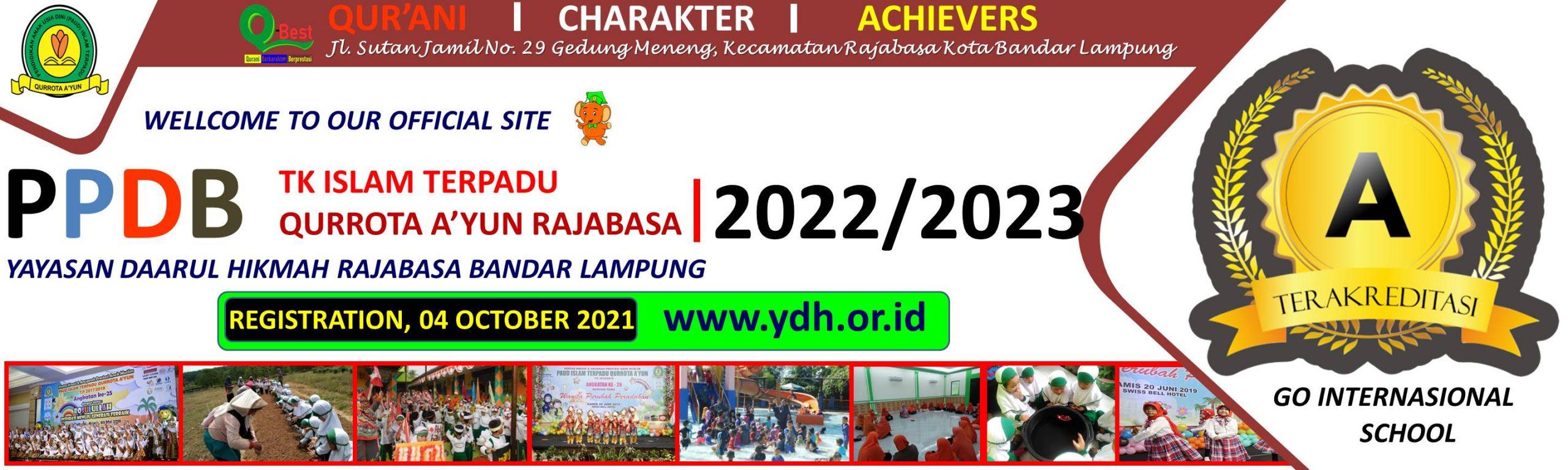 PPDB PAUDIT Qurrota Ayun Bandar Lampung